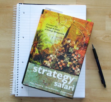 Book Strategy Safari - Henry Mintzberg et al